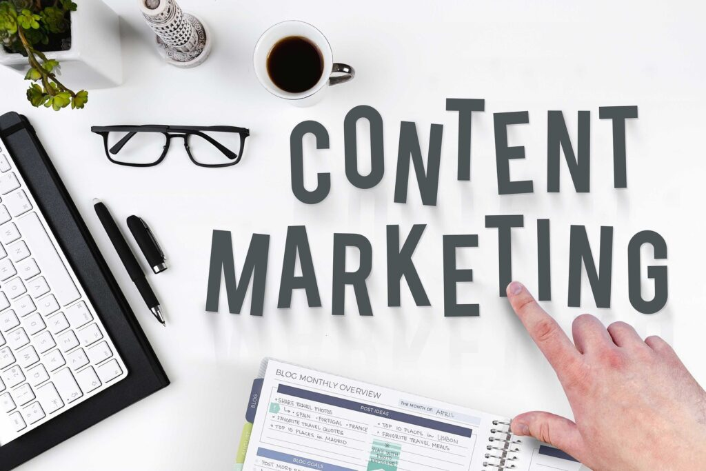 Content marketing text