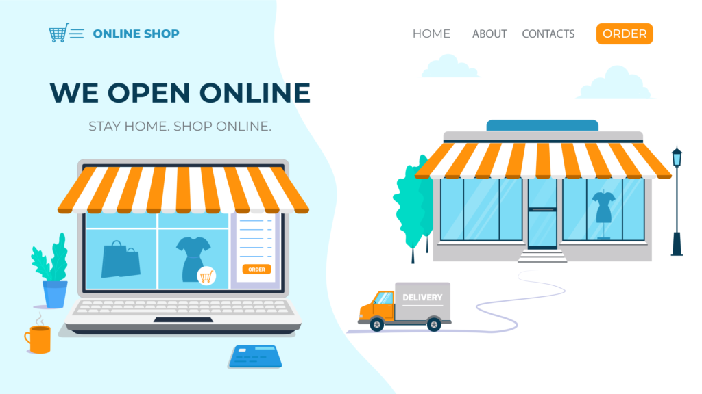 Example eCommerce business - During COVID